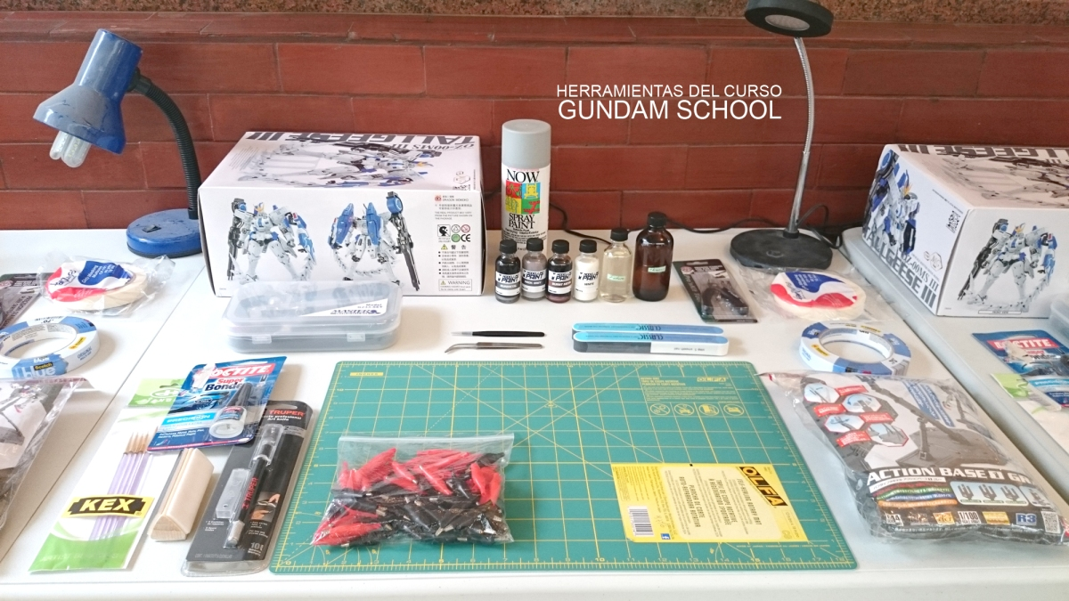 En la escuela de modelismo Gundam School nuestro p…