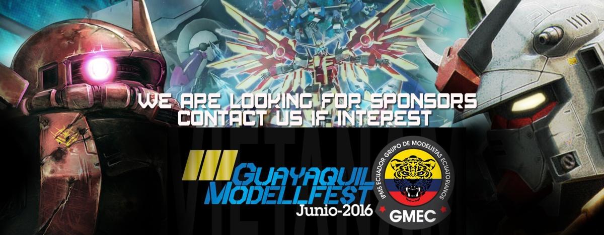 El Guayaquil Modelfest 2016 esta buscando auspiciantes